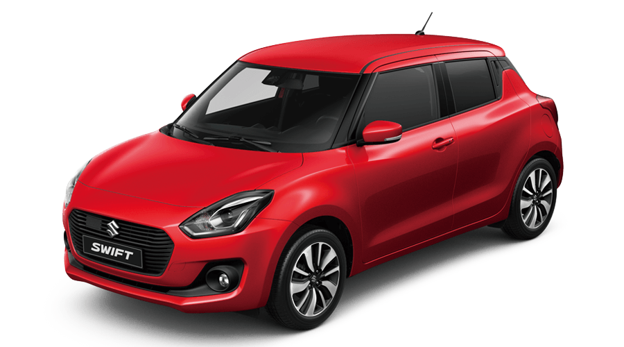 Suzuki New Swift rot Modellpalette